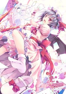 Rating: Safe Score: 36 Tags: hinooka_shuuji remilia_scarlet touhou weapon wings User: fairyren
