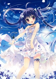 Rating: Safe Score: 121 Tags: cleavage dress garter no_bra see_through shiromochi_sakura skirt_lift User: Twinsenzw