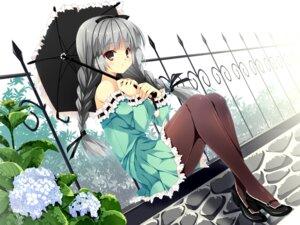 Rating: Safe Score: 37 Tags: kobayashi_chisato pantyhose User: fairyren