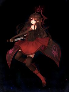 Rating: Safe Score: 42 Tags: dress hanami_dango_(zzldango) heels sword thighhighs User: Mr_GT