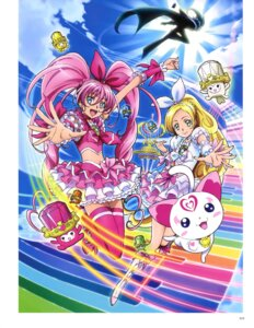 Rating: Questionable Score: 4 Tags: dress heels houjou_hibiki hummy minamino_kanade pretty_cure shirabe_ako suite_pretty_cure takahashi_akira thighhighs User: drop