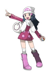 Rating: Safe Score: 13 Tags: hikari_(pokemon) nintendo pokemon sugimori_ken User: cosmic+T5