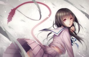 Rating: Safe Score: 120 Tags: iki_hiyori noragami pantsu seifuku tail tid torn_clothes User: donicila