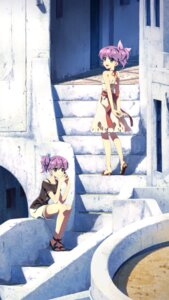 Rating: Questionable Score: 43 Tags: dj_max dress heels ladymade_star nina_(ladymade_star) serha yuuki_tatsuya User: icgeass