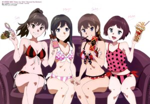 Rating: Questionable Score: 37 Tags: azuma_kentarou bikini cleavage iwasaki_shiho kinumiya_saki shimada_mayu suzuki_moka swimsuits wake_up_girls! User: drop