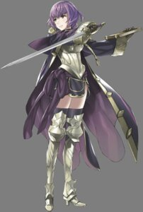 Rating: Safe Score: 10 Tags: armor fire_emblem fire_emblem_kakusei heels katarina_(fire_emblem) kozaki_yuusuke nintendo sword thighhighs transparent_png User: Radioactive