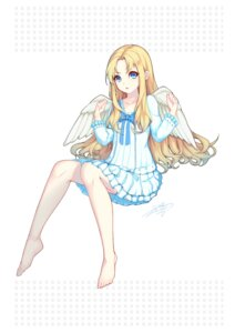 Rating: Questionable Score: 18 Tags: dress firo lis_zhu_long skirt_lift tate_no_yuusha_no_nariagari wings User: yanis