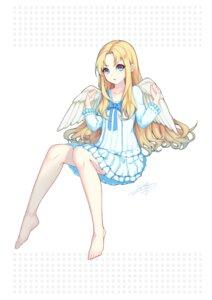 Rating: Questionable Score: 17 Tags: dress firo lis_zhu_long skirt_lift tate_no_yuusha_no_nariagari wings User: yanis