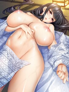 Rating: Questionable Score: 76 Tags: breast_hold breasts hadashi_shoujo ino niizuma_shino nipples no_bra nopan open_shirt uikawa_shino wet yukata User: kiyoe