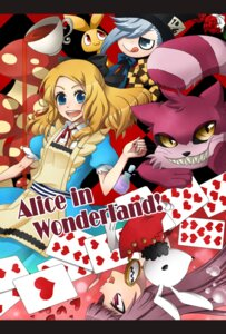 Rating: Safe Score: 9 Tags: alice alice_in_wonderland cheshire_cat nico_(canoramente!) white_rabbit User: Radioactive