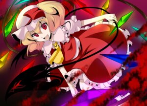 Rating: Safe Score: 11 Tags: flandre_scarlet haruna_(artist) touhou User: Radioactive