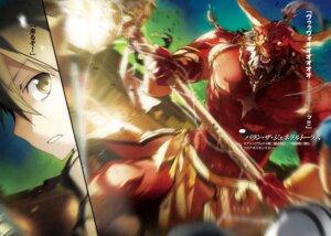Rating: Safe Score: 9 Tags: abec kirito monster sword_art_online sword_art_online_progressive User: kiyoe