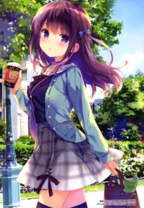 Rating: Safe Score: 186 Tags: gi(a)rlish_number karasuma_chitose_(giarlish_number) ohara_tometa qp:flapper thighhighs User: drop