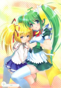 Rating: Safe Score: 19 Tags: goto-p lemon-chan maid melonbooks melon-chan thighhighs User: midzki