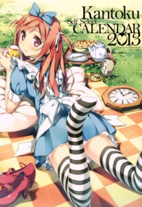 Rating: Safe Score: 198 Tags: 5_nenme_no_houkago alice alice_in_wonderland cosplay dress kantoku kurumi_(kantoku) thighhighs User: Twinsenzw