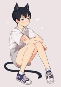 Rating: Safe Score: 6 Tags: animal_ears haikyuu!! kageyama_tobio male nekomimi tail weyo User: charunetra