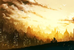 Rating: Safe Score: 31 Tags: keiji_asakawa landscape silhouette User: kayex