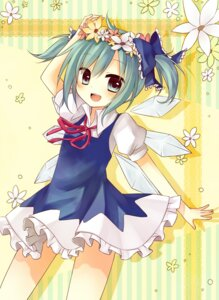 Rating: Safe Score: 25 Tags: amene_kurumi cirno touhou User: fairyren