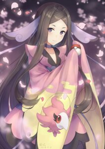 Rating: Safe Score: 18 Tags: ayuanlv japanese_clothes mache_(pokemon) pokemon pokemon_xy spritzee User: Mr_GT