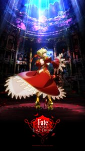 Rating: Safe Score: 44 Tags: armor dress fate/extra_last_encore heels saber_(fate/extra) sword User: SubaruSumeragi