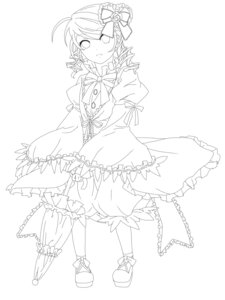 Rating: Questionable Score: 3 Tags: kanaria lolita_fashion moeou rozen_maiden User: exel
