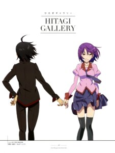 Rating: Safe Score: 14 Tags: araragi_koyomi bakemonogatari matsuura_chikara seifuku senjougahara_hitagi stockings thighhighs User: drop