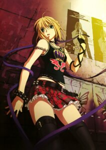 Rating: Safe Score: 164 Tags: fate/stay_night kikuchi_youko saber thighhighs User: Kalafina
