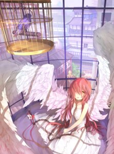Rating: Safe Score: 53 Tags: dress hitoshi_(pixiv3340857) summer_dress wings User: Mr_GT