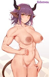 Rating: Explicit Score: 10 Tags: animal_ears arknights horns lactation naked nipples pussy rosaline sideroca_(arknights) tail uncensored User: Genex