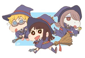 Rating: Safe Score: 12 Tags: atsuko_kagari chibi little_witch_academia lotte_yanson megane seifuku sucy_manbabalan tagme witch User: NotRadioactiveHonest