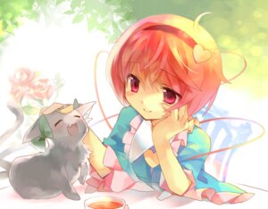 Rating: Safe Score: 26 Tags: jin_rikuri komeiji_satori neko touhou User: fairyren