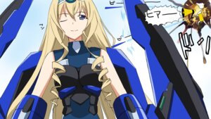Rating: Safe Score: 11 Tags: a1 bodysuit cecilia_alcott chidejika infinite_stratos initial-g mecha_musume User: Radioactive