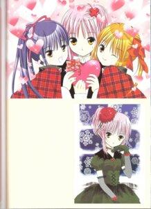 Rating: Safe Score: 6 Tags: binding_discoloration dress fujisaki_nadeshiko hinamori_amu peach-pit shugo_chara trap yuiki_yaya User: noirblack