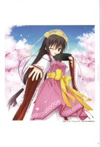 Rating: Safe Score: 17 Tags: japanese_clothes muririn tenshinranman unohananosakuyahime yuzu-soft User: Twinsenzw