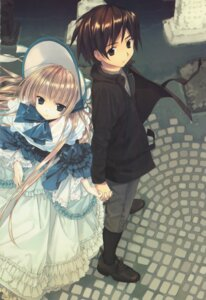 Rating: Safe Score: 10 Tags: dress gosick kujo_kazuya lolita_fashion takeda_hinata victorica_de_broix User: MDGeist