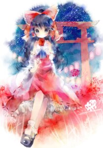 Rating: Safe Score: 13 Tags: hakurei_reimu shimeko touhou User: fireattack