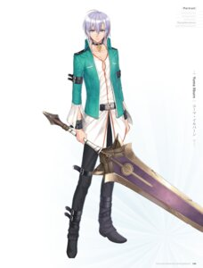 Rating: Safe Score: 9 Tags: digital_version male sega shining_resonance shining_world sword tony_taka yuma_ilburn User: Twinsenzw