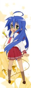Rating: Safe Score: 15 Tags: izumi_konata lucky_star seifuku stick_poster User: Share
