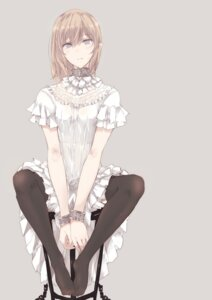 Rating: Safe Score: 57 Tags: dress thighhighs touma_kisa User: Mr_GT