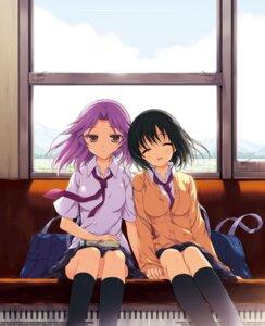 Rating: Safe Score: 38 Tags: kajiki_yumi odawara_hakone saki saki_achiga-hen seifuku touyoko_momoko User: fairyren
