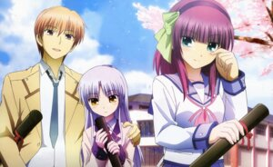 Rating: Safe Score: 30 Tags: angel_beats! detexted otonashi seifuku tenshi toya_kento yurippe User: charunetra