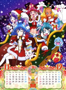 Rating: Questionable Score: 10 Tags: amamiya_erena animal_ears calendar christmas cure_cosmos dress fuwa_(star_twinkle_precure) hagoromo_lala hoshina_hikaru kaguya_madoka puruns star_twinkle_precure tail thighhighs toei_animation User: drop