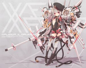 Rating: Questionable Score: 52 Tags: bodysuit loli majoca†majoluna mecha_musume nanashina weapon User: Radioactive