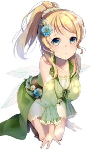 Rating: Safe Score: 52 Tags: ayase_eli dress love_live! tagme wings User: nphuongsun93