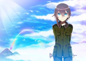 Rating: Safe Score: 6 Tags: sorami_kanata sora_no_woto uniform User: Radioactive