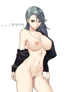 Rating: Questionable Score: 35 Tags: azto_dio bottomless breasts niijima_sae nipples no_bra open_shirt persona_5 pubic_hair pussy User: Mr_GT