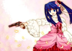 Rating: Safe Score: 6 Tags: dress furudo_erika gun kiwami umineko_no_naku_koro_ni User: 洛井夏石
