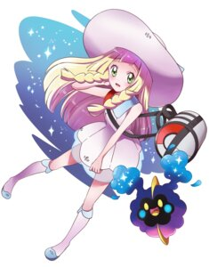 Rating: Safe Score: 25 Tags: cosmog dress lillie_(pokemon) pokemon pokemon_sm see_through sharumon User: cosmic+T5