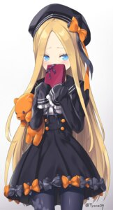 Rating: Safe Score: 19 Tags: abigail_williams_(fate/grand_order) dress fate/grand_order gothic_lolita lolita_fashion pantyhose signed valentine yyo User: RyuZU
