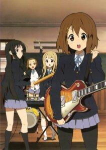 Rating: Safe Score: 15 Tags: akiyama_mio guitar hirasawa_yui jpeg_artifacts k-on! kotobuki_tsumugi pantyhose seifuku tainaka_ritsu User: Share